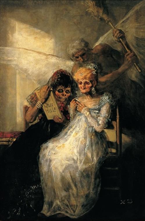 Goya, Les vieilles