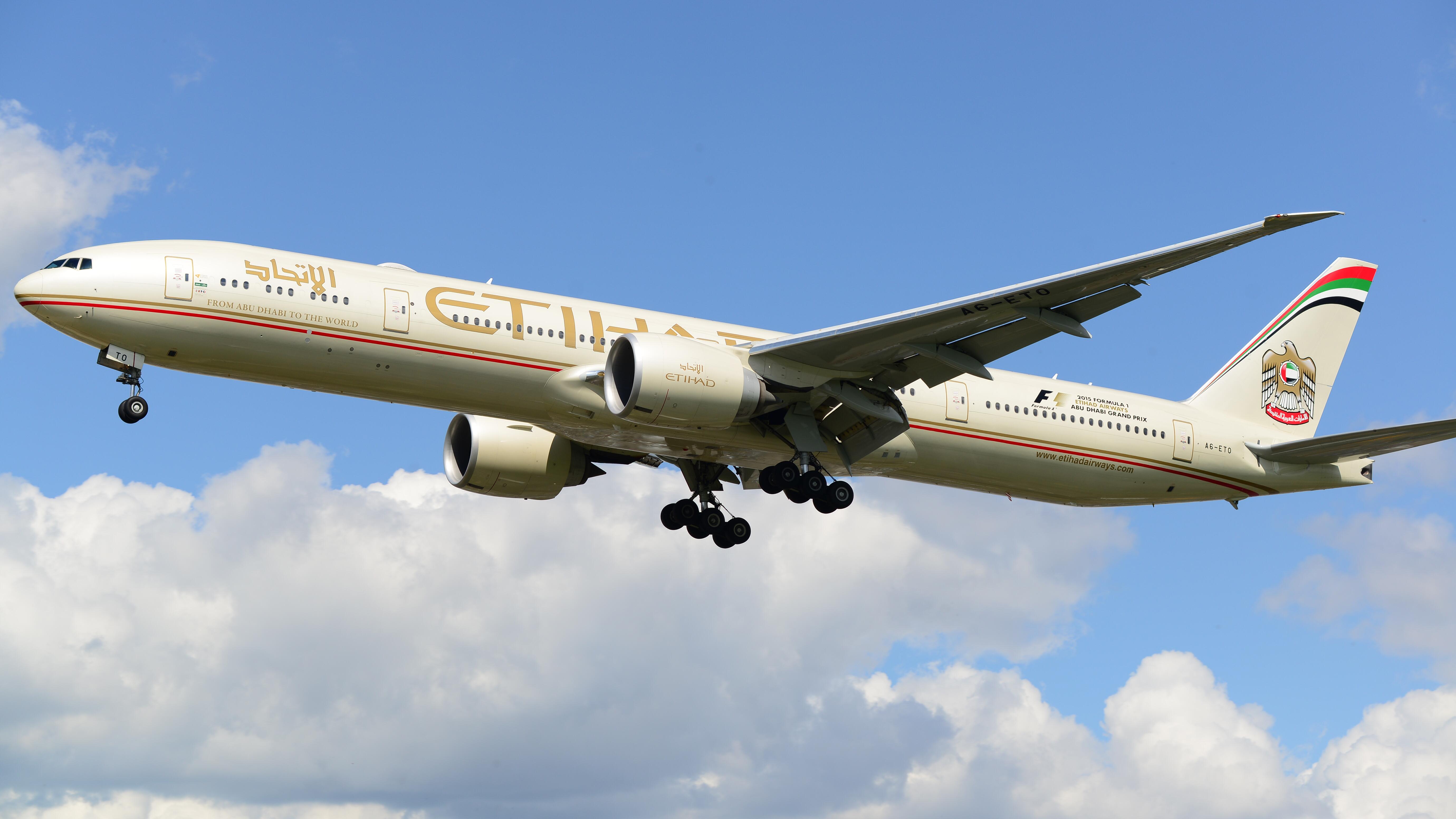 The Etihad Airways Chauffeur Service