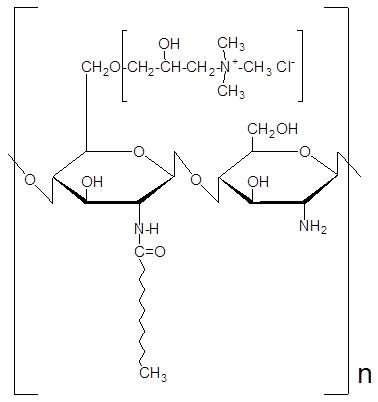 キトサン誘導体の構造