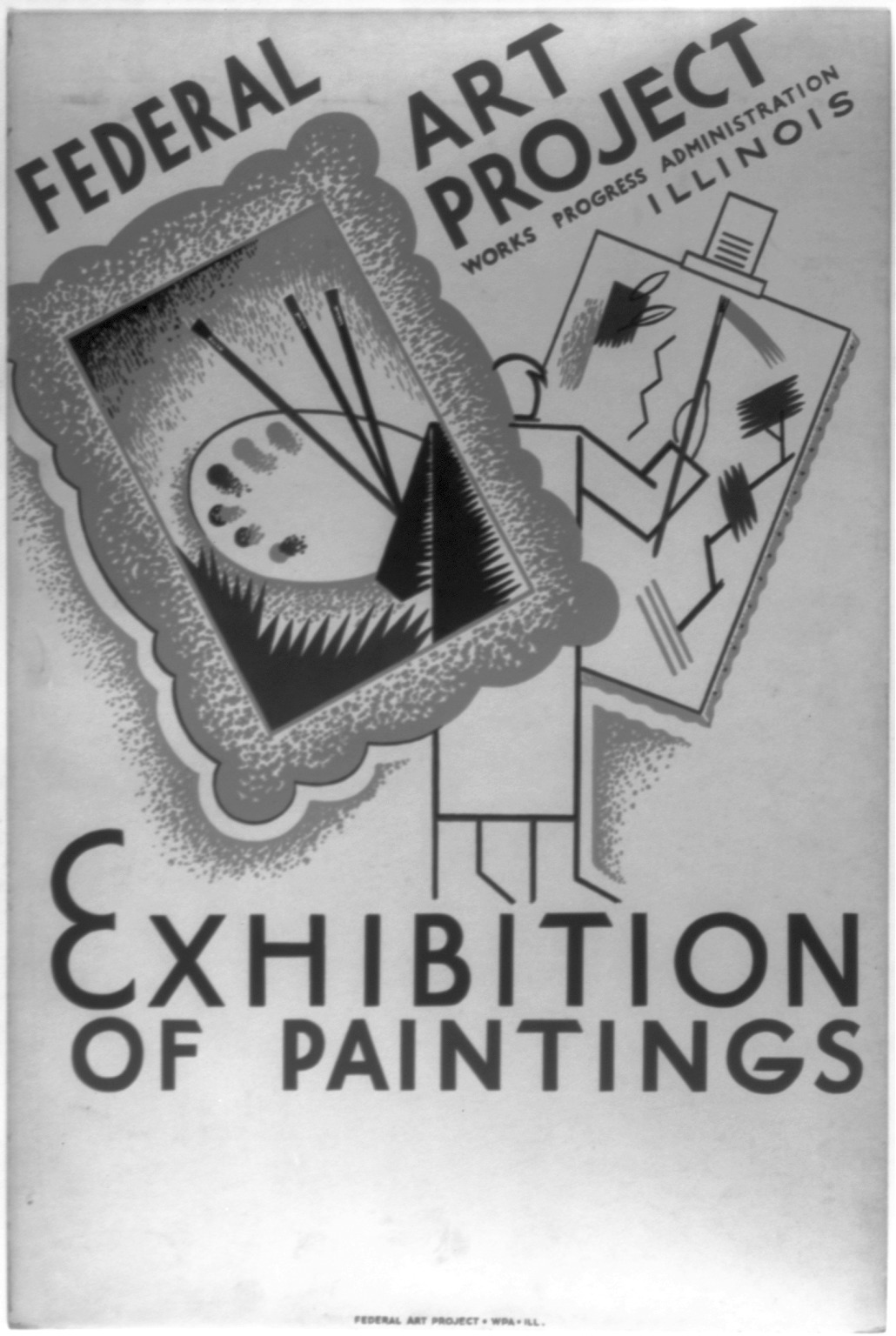 Description Of Federal Art Project