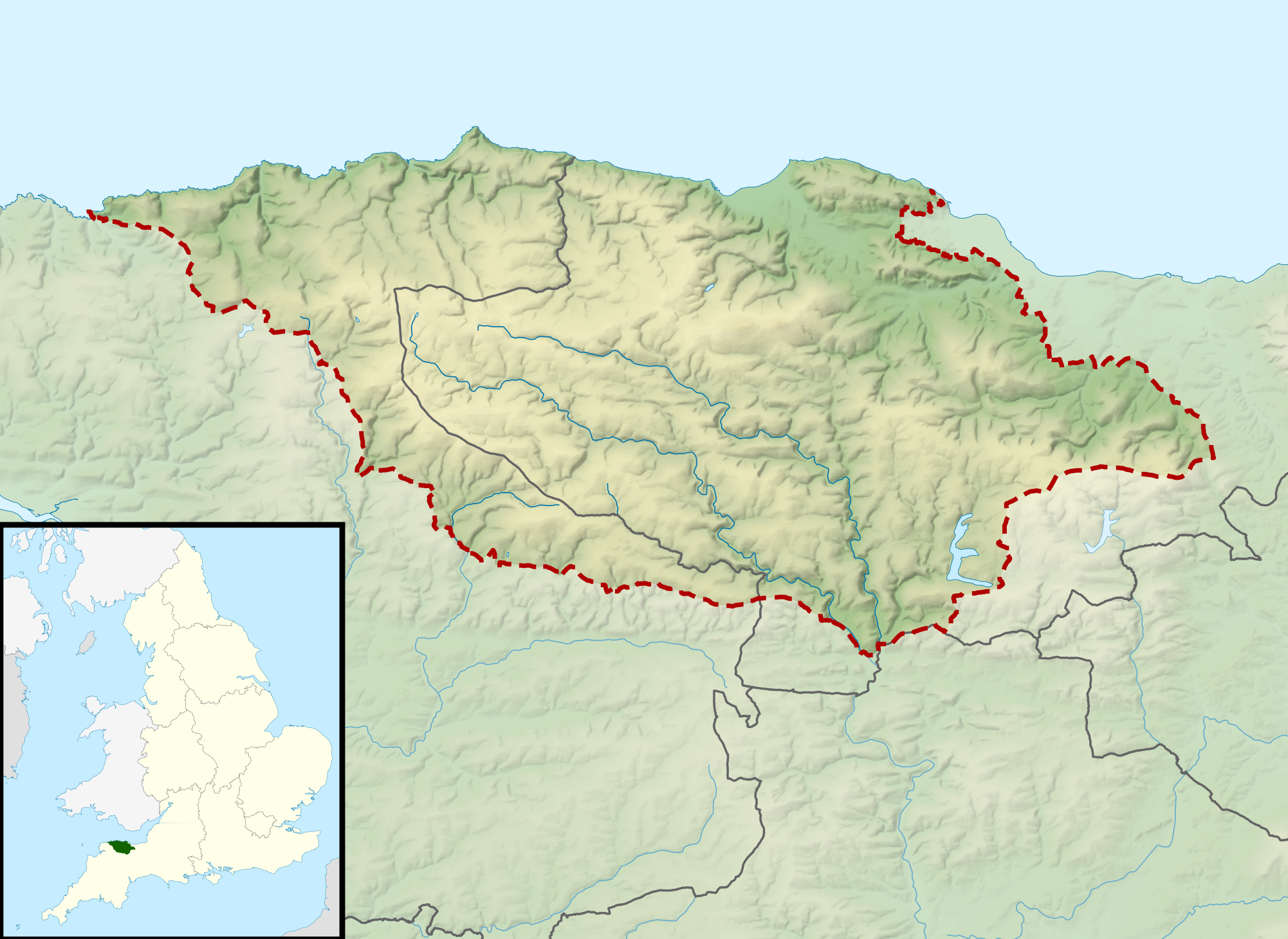 FileExmoor National Park UK Relief Location Mappng Wikimedia - National parks locations map