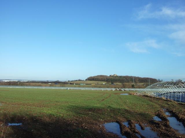 File:Farmland near Stafford Castle - geograph.org.uk - 1136268.jpg
