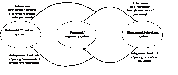 Figure 1 - Living System formulated as a set of ontologically independent but interconnected substructural subsystems