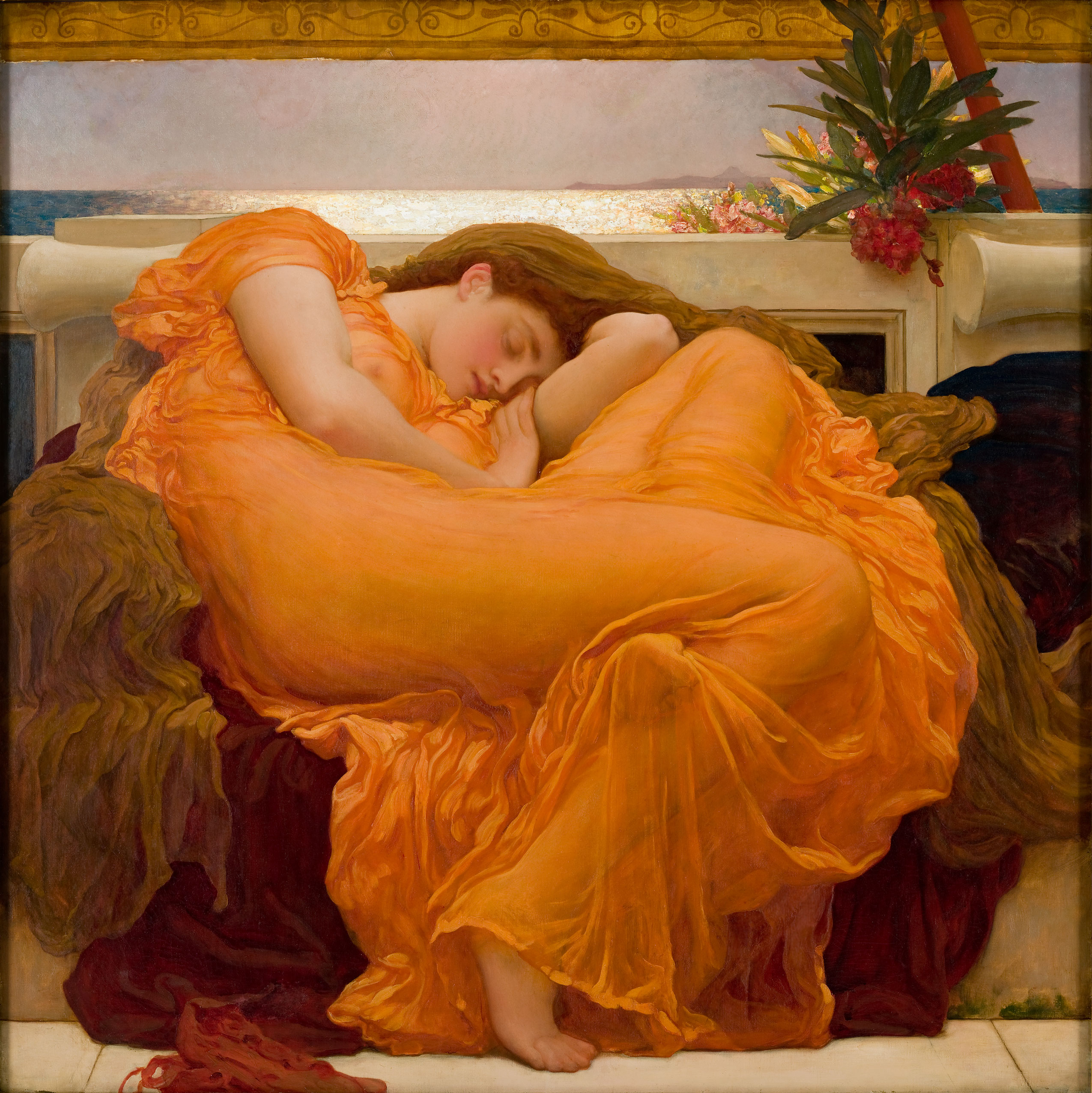 https://upload.wikimedia.org/wikipedia/commons/8/8d/Flaming_June%2C_by_Frederic_Lord_Leighton_%281830-1896%29.jpg