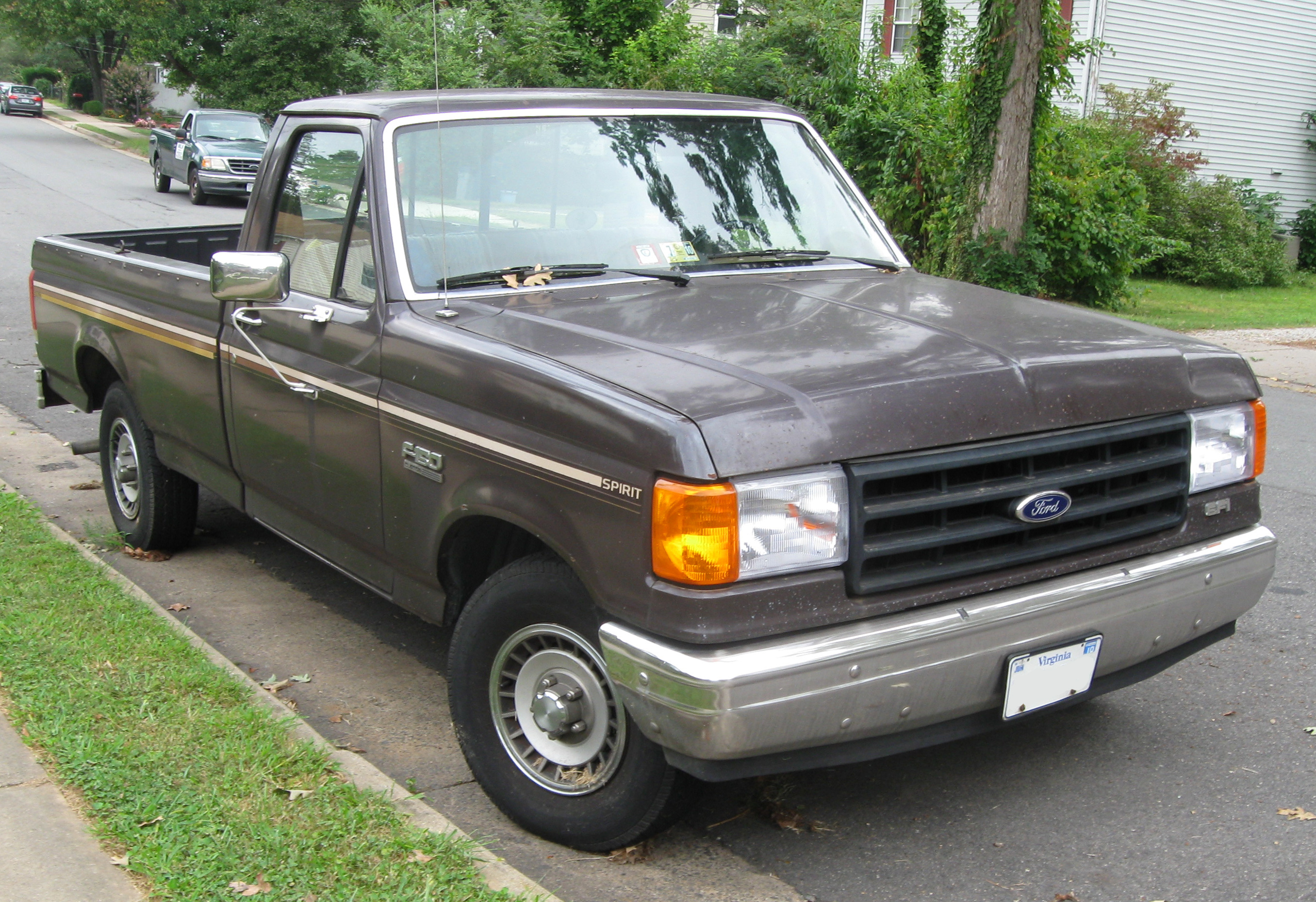 ford f series eighth generation wikiwand rh wikiwand com Ford 4.9 Vacuum Diagram 1990 Ford F-150 Motor Diagram