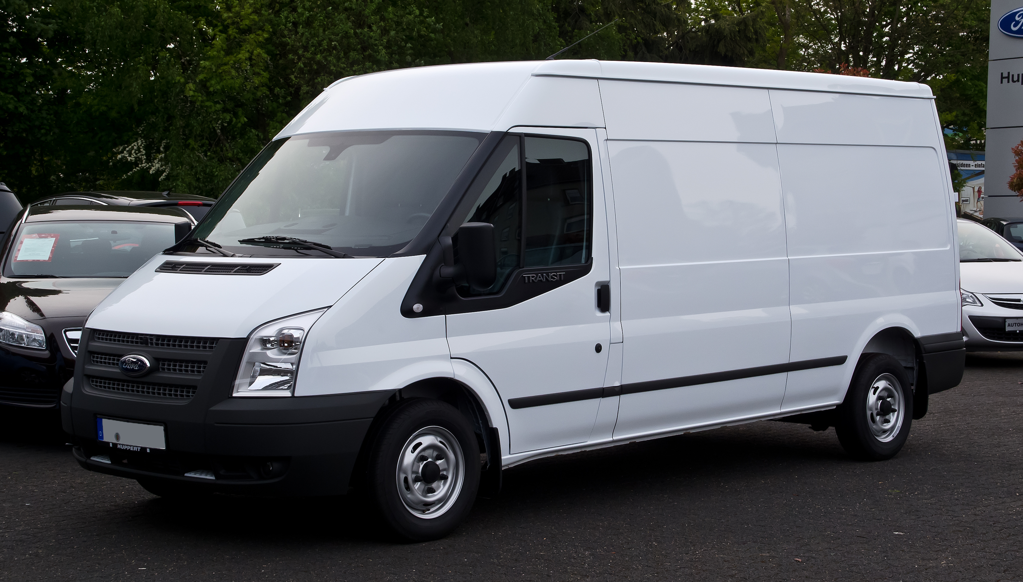 Fileford Transit  T Vi Frontansicht