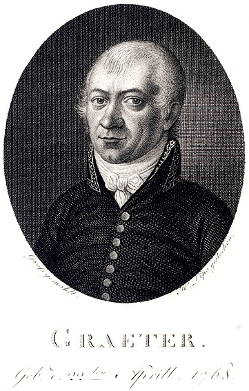 Etching after a portrait by  Georg Peter Groß  (1782&ndash&#x3B;1858).