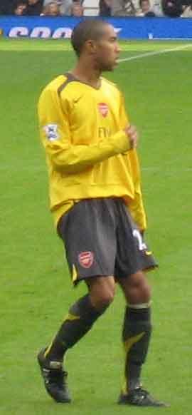 French football (soccer) player Gaël Clichy