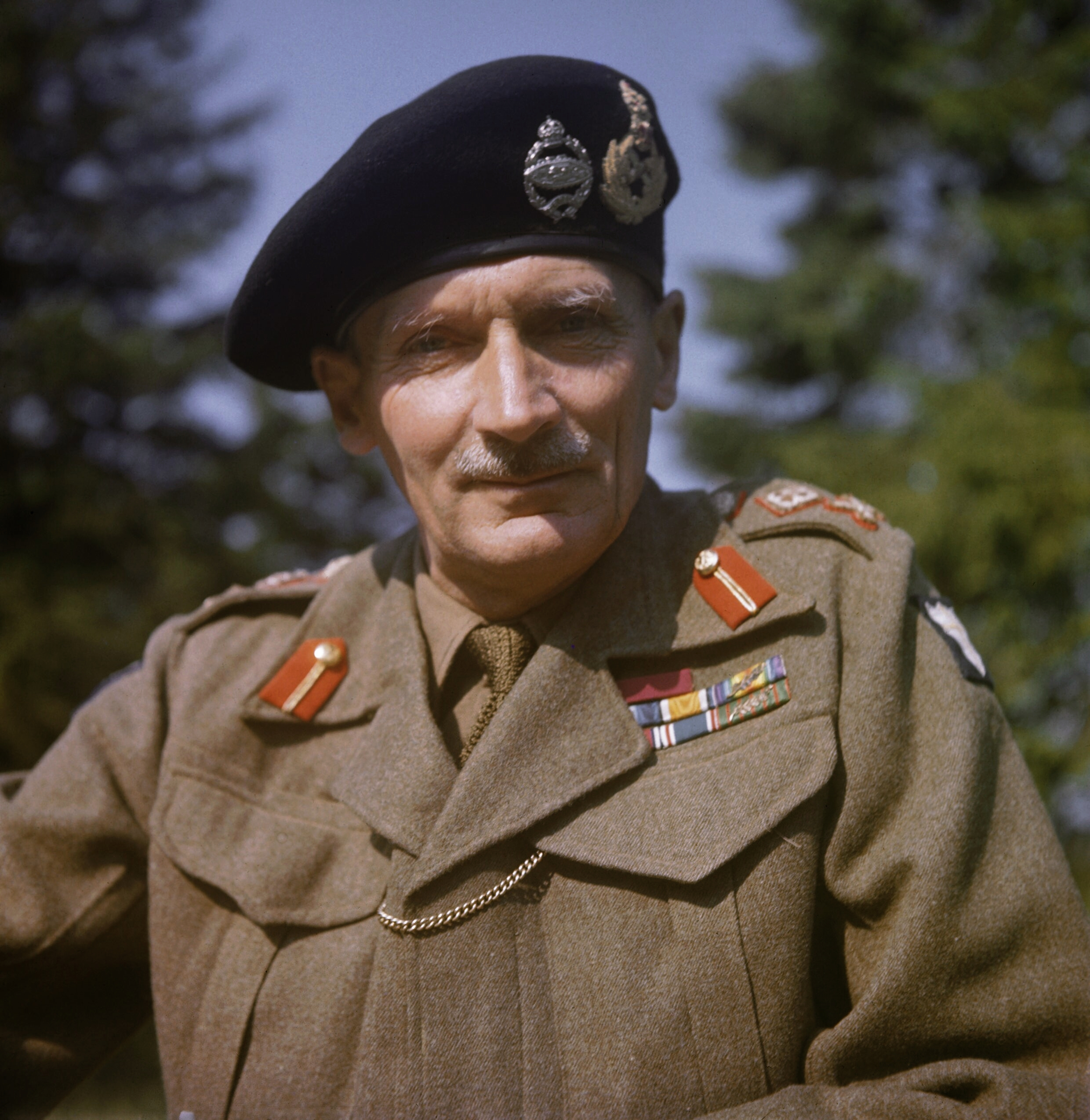 File General Sir Bernard Montgomery In England 1943