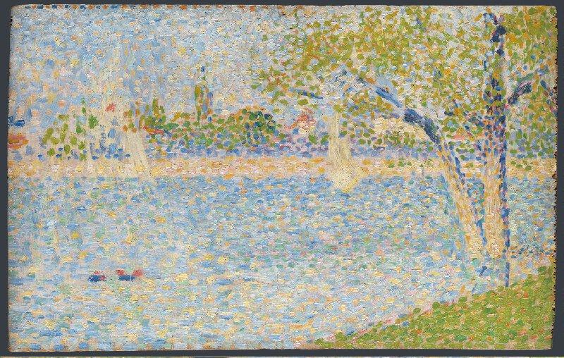 Georges Seurat - The Seine seen from La Grande jatte PC 176.jpg