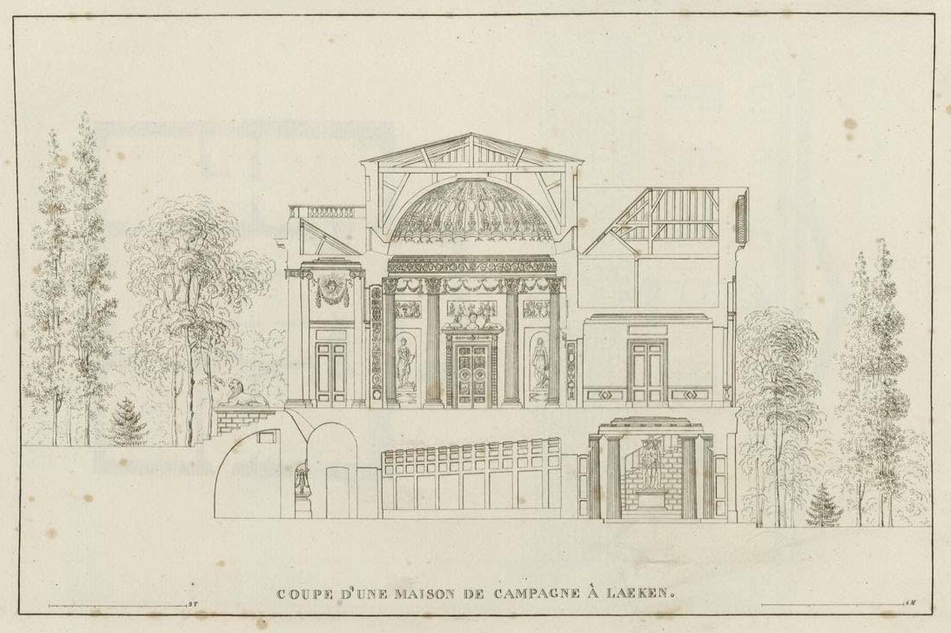 File goetghebuer 1827 choix des monuments 015 coupe maison de campagne - Rideaux maison de campagne ...
