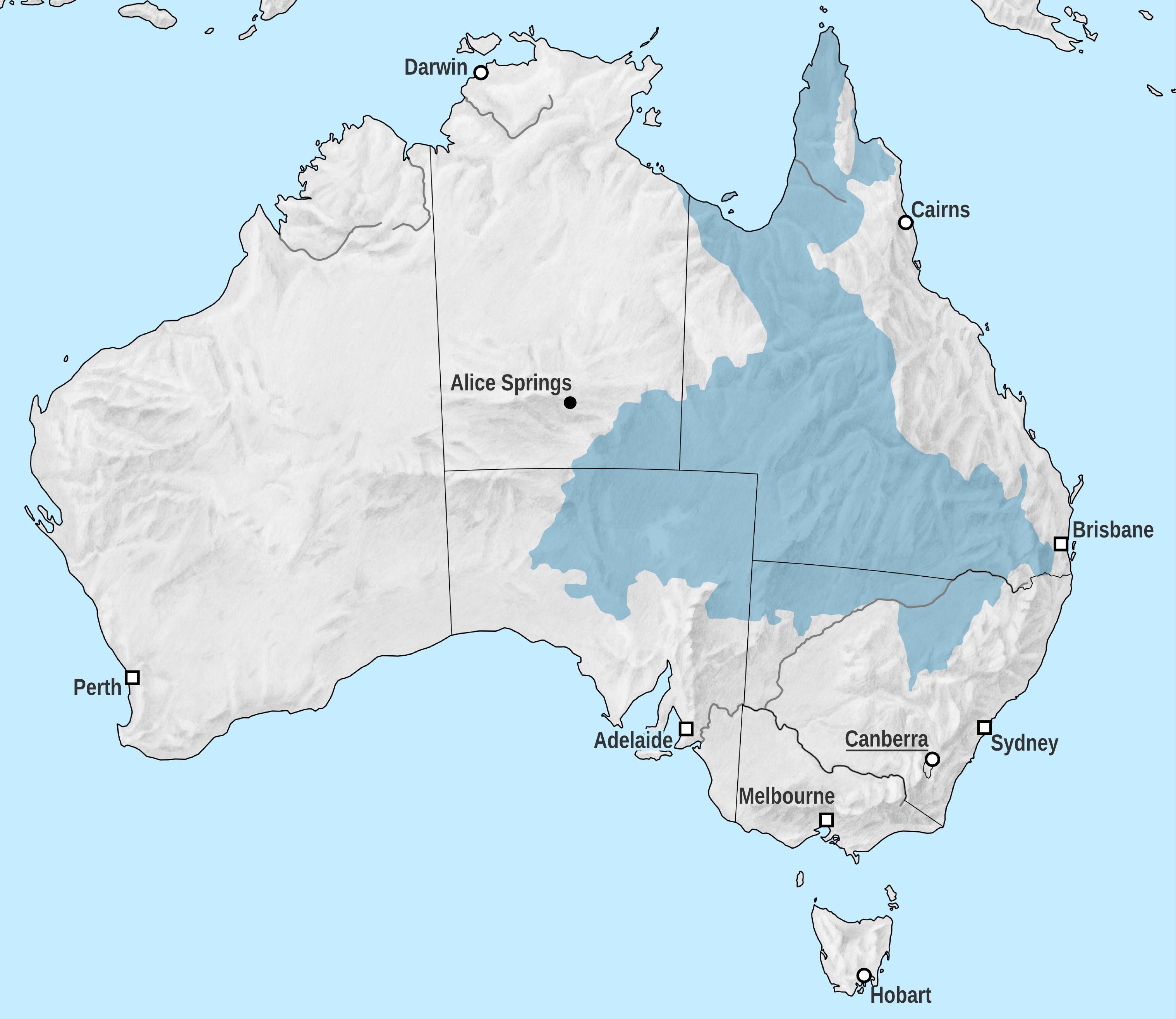 Map Of Australia Great Artesian Basin.Great Artesian Basin Wikipedia