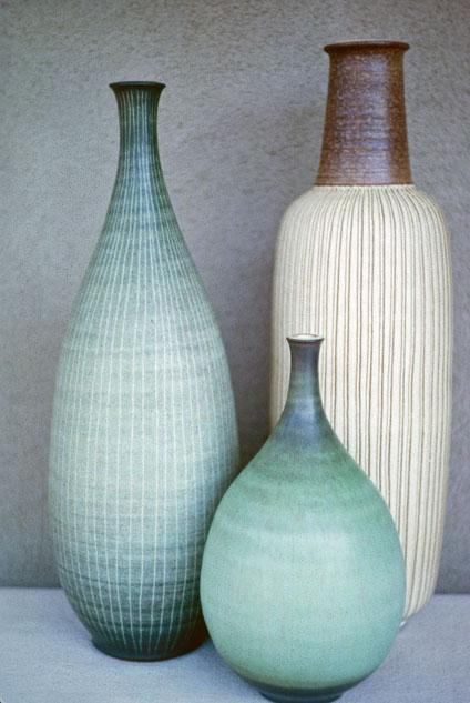 File Group Of Hand Thrown Stoneware Bottle Vases 1962 Jpg Wikimedia Commons