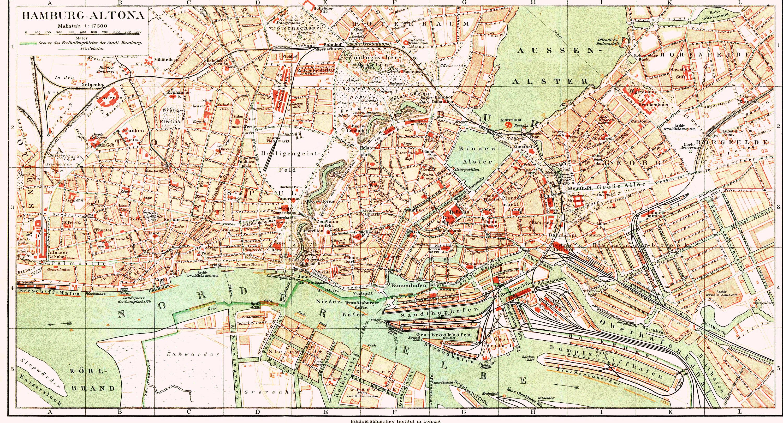 Hamburg Hauptbahnhof Karte.Hamburg Altonaer Verbindungsbahn Wikipedia