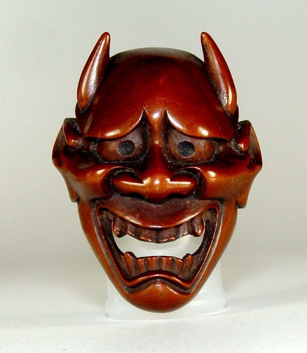 Hannya wikipedia for Kabuki mask template