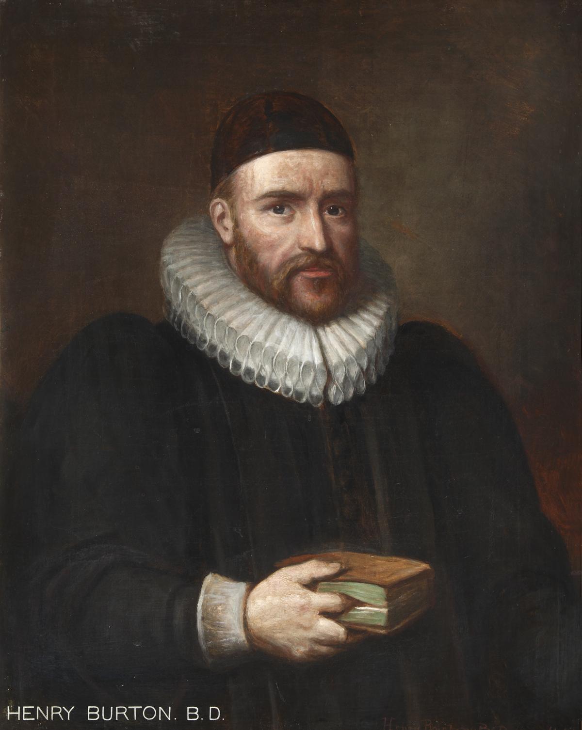 henry burton  theologian