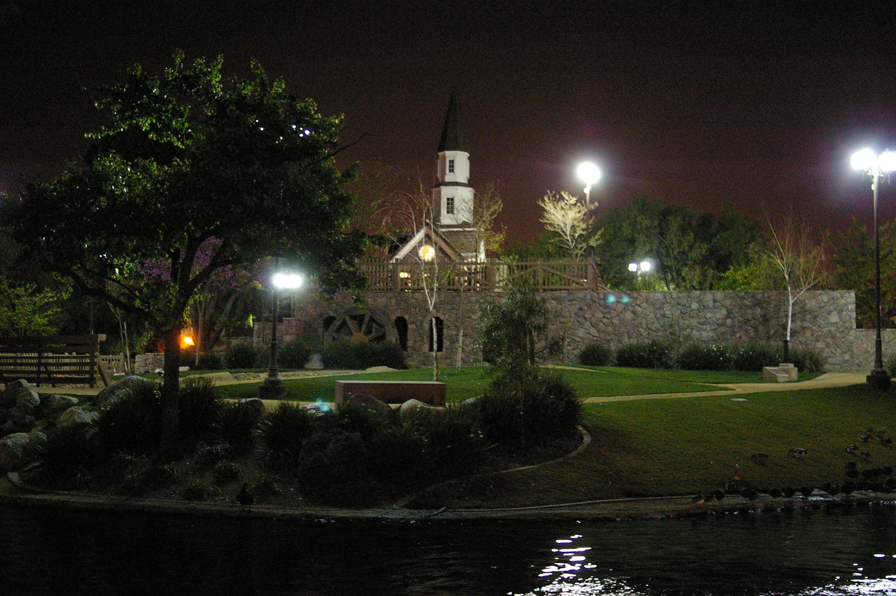 Cerritos Heritage Park Play Island