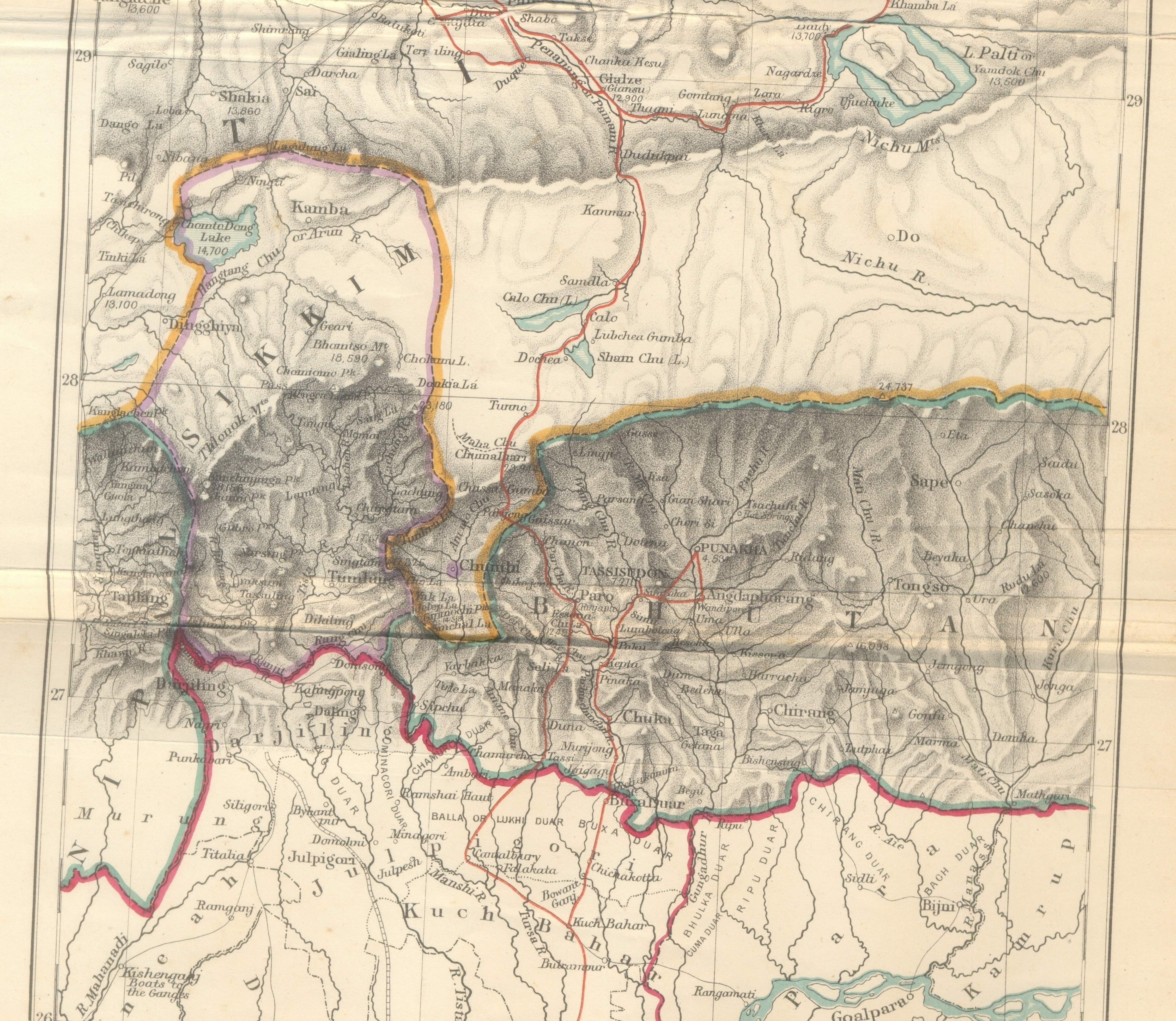 Filehistorical map of sikkim in northeastern indiag wikimedia filehistorical map of sikkim in northeastern indiag gumiabroncs Images