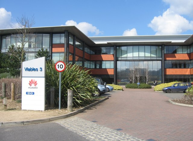 File:Huawei - Viables '3' offices - geograph.org.uk - 774750.jpg ...