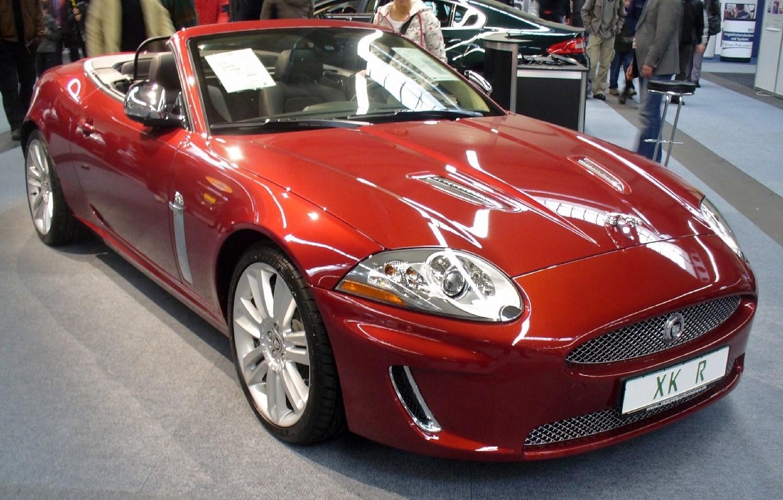 file jaguar xkr cabrio facelift wikimedia commons. Black Bedroom Furniture Sets. Home Design Ideas