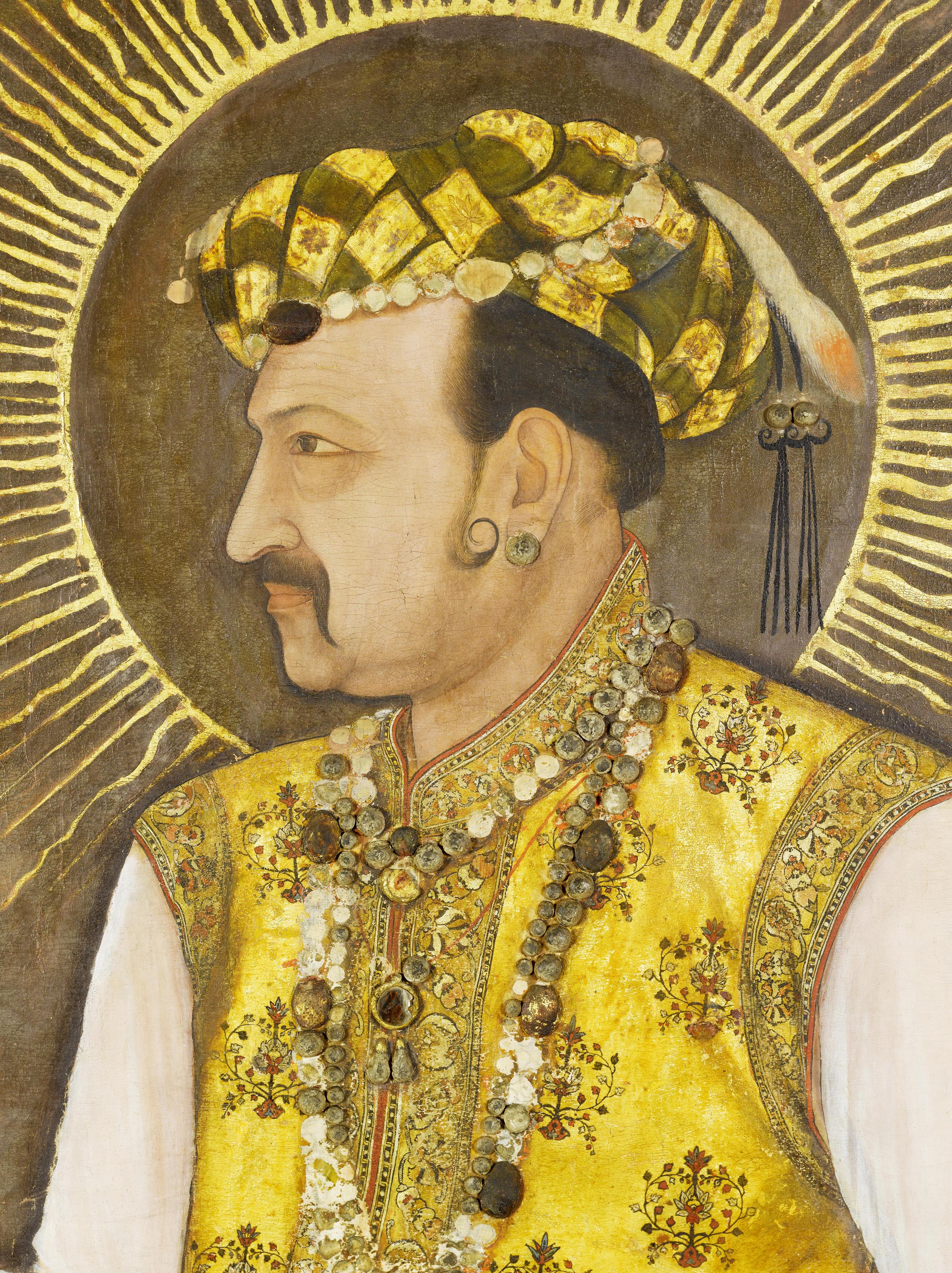 biography of king akbar