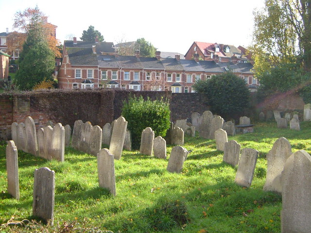 Jews' Burial ground in Exeter - geograph.org.uk - 283428