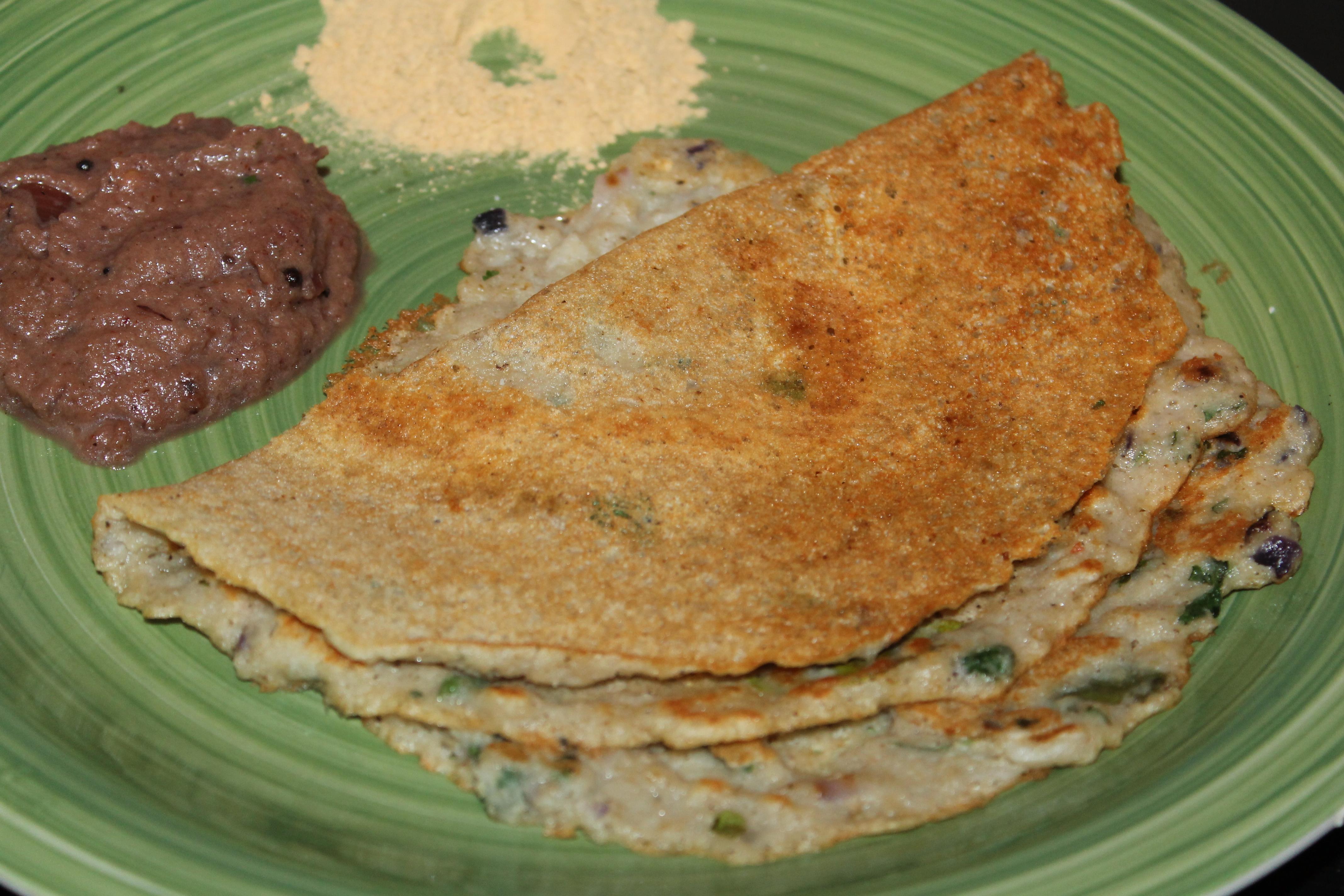 Dosa, srilankan cuisine