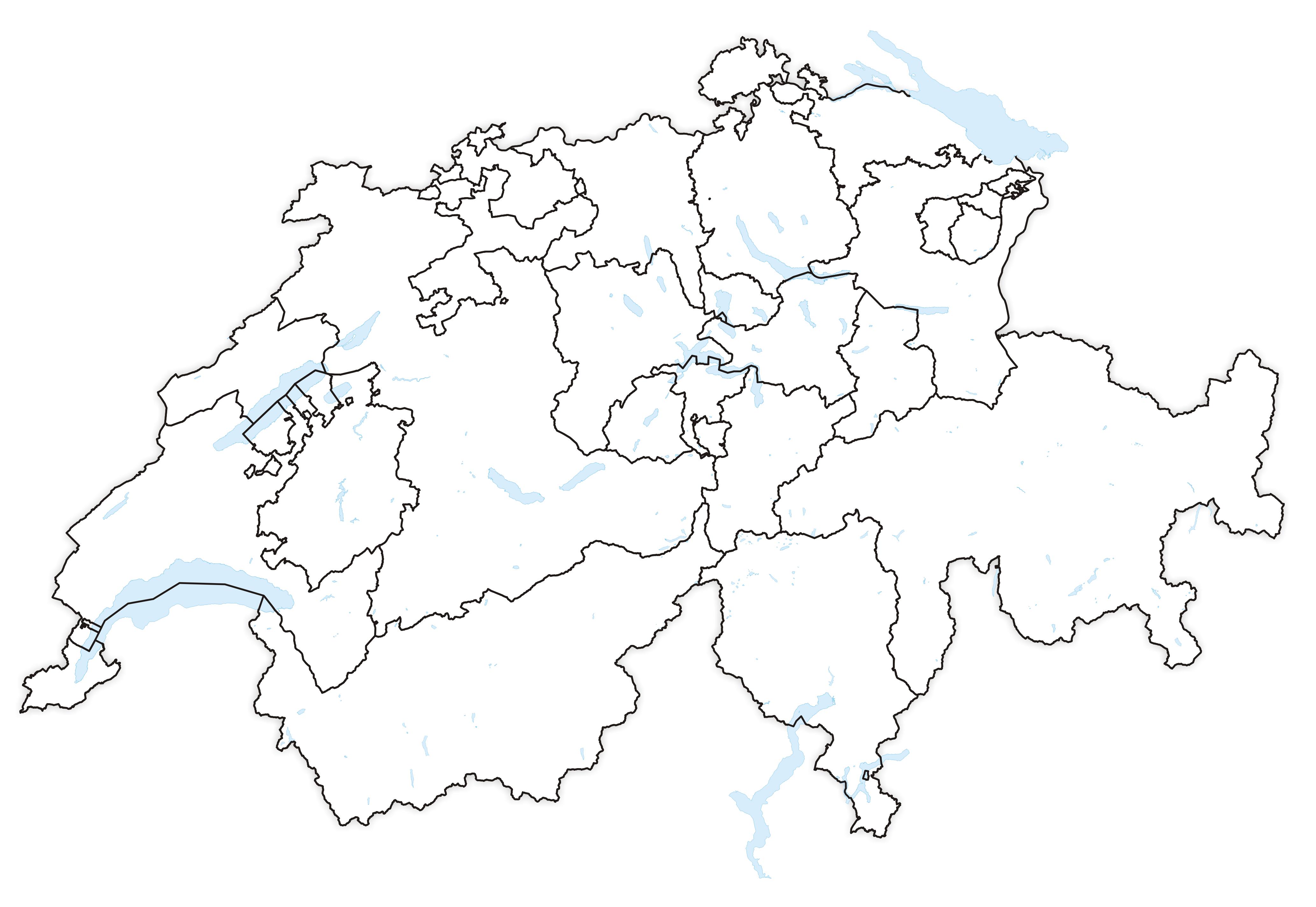 filekarte kantone der schweiz 1815png