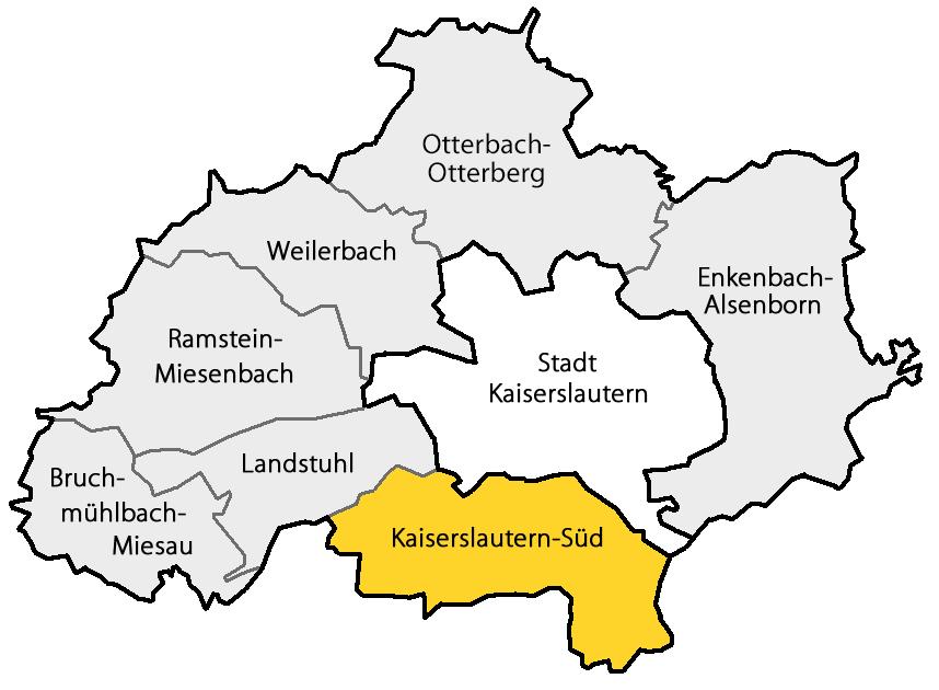 karte kaiserslautern Datei:Karte Verbandsgemeinde Kaiserslautern Süd.png – Wikipedia karte kaiserslautern