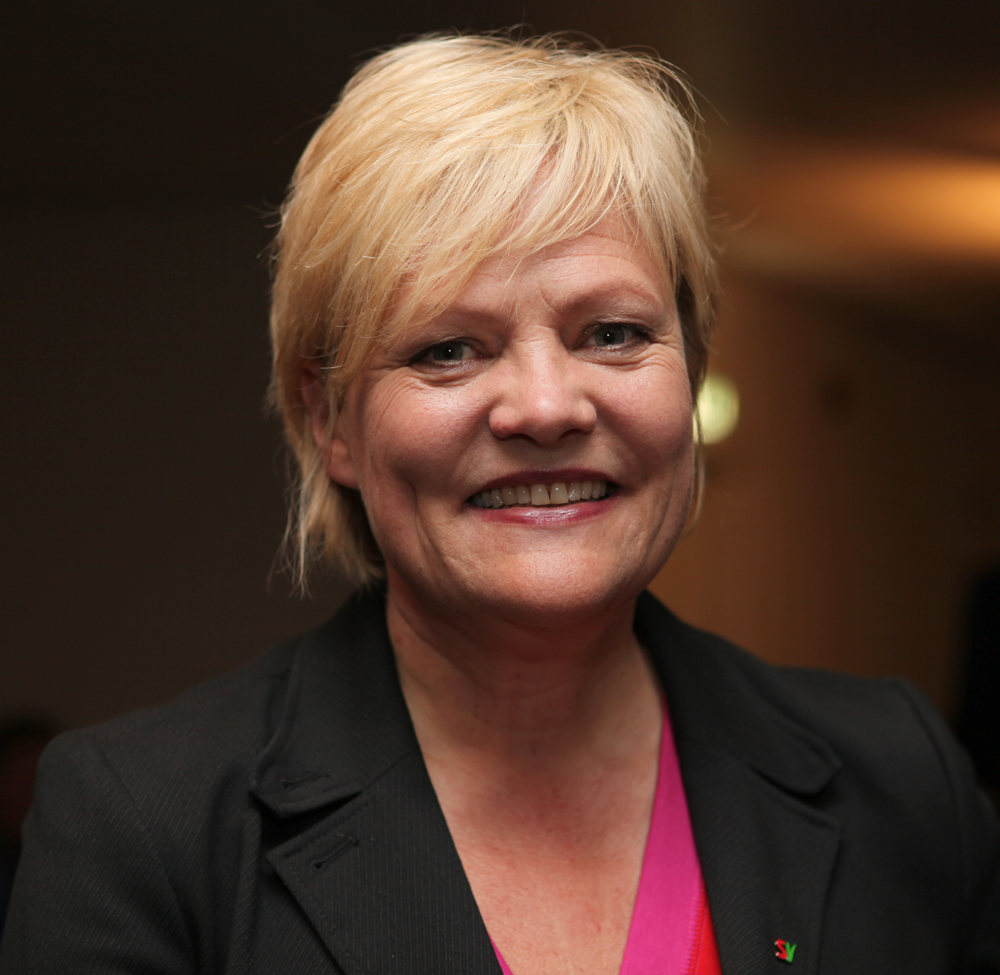 Kristin Halvorsen has been SVs party leader since 1997.