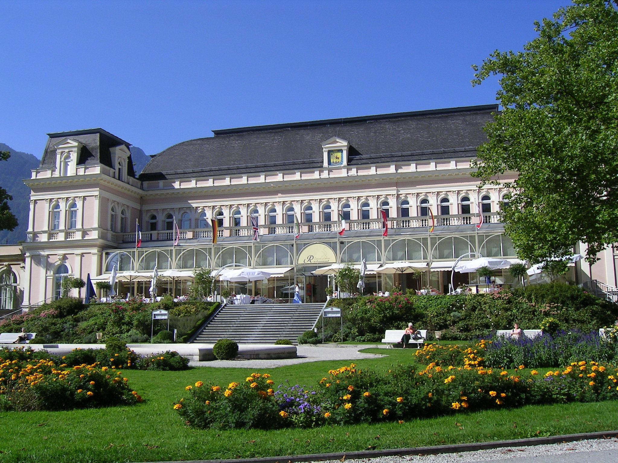 Bad Ischl Austria  City pictures : Kurhaus Bad Ischl Wikimedia Commons