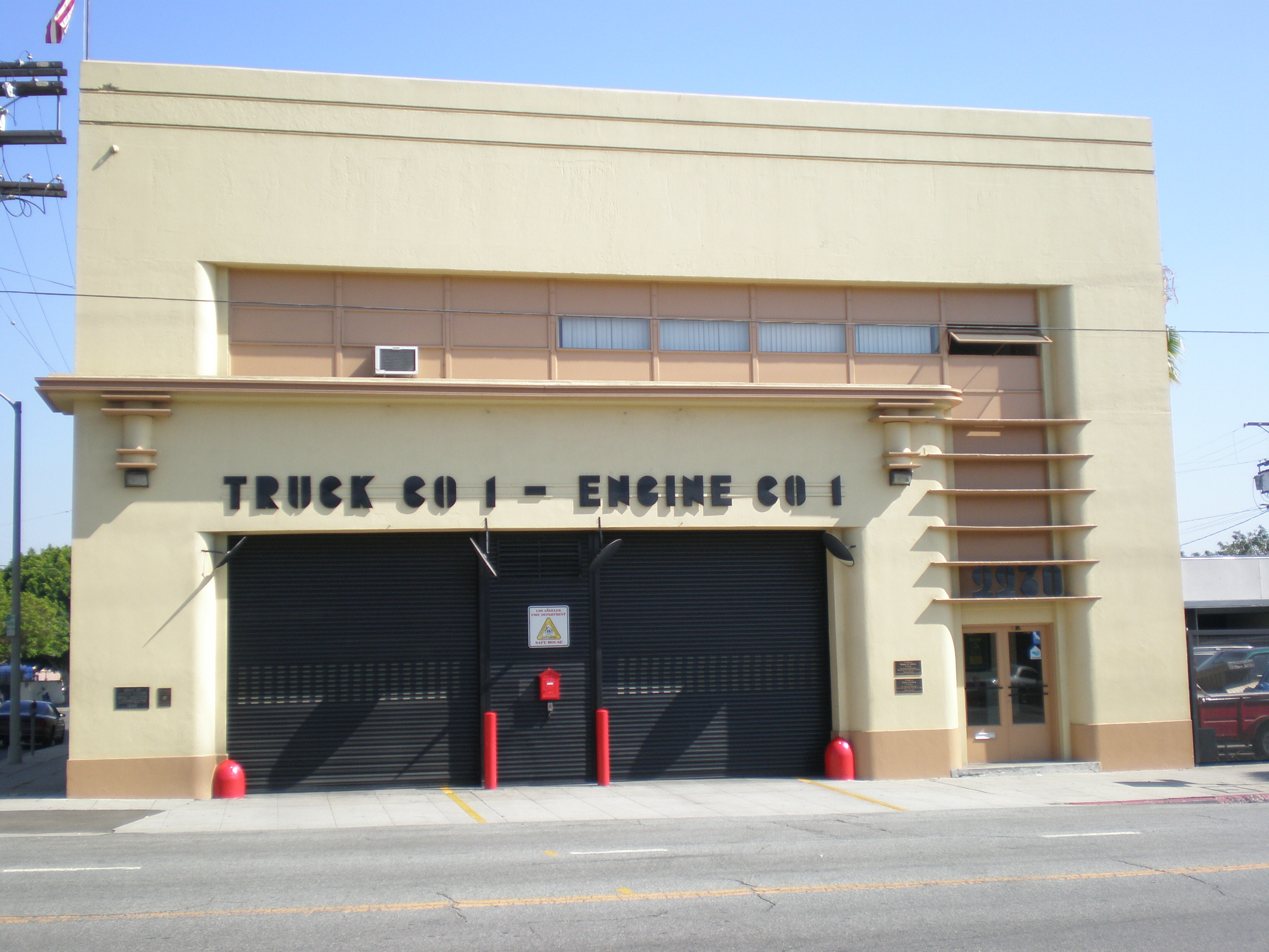 Fire Station No  1 (Los Angeles, California) - Wikipedia