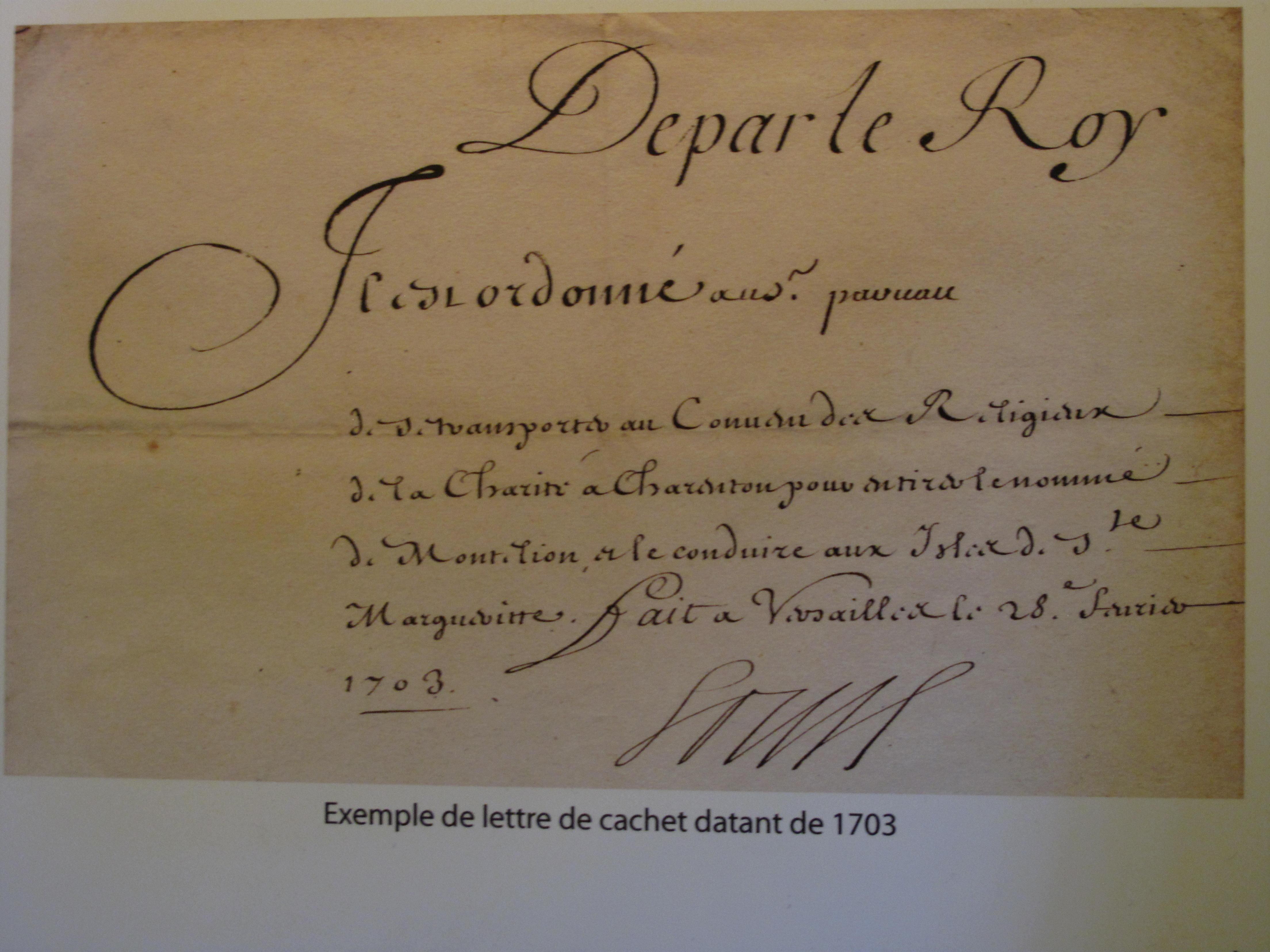 Lettres De Cachet Wikipedia