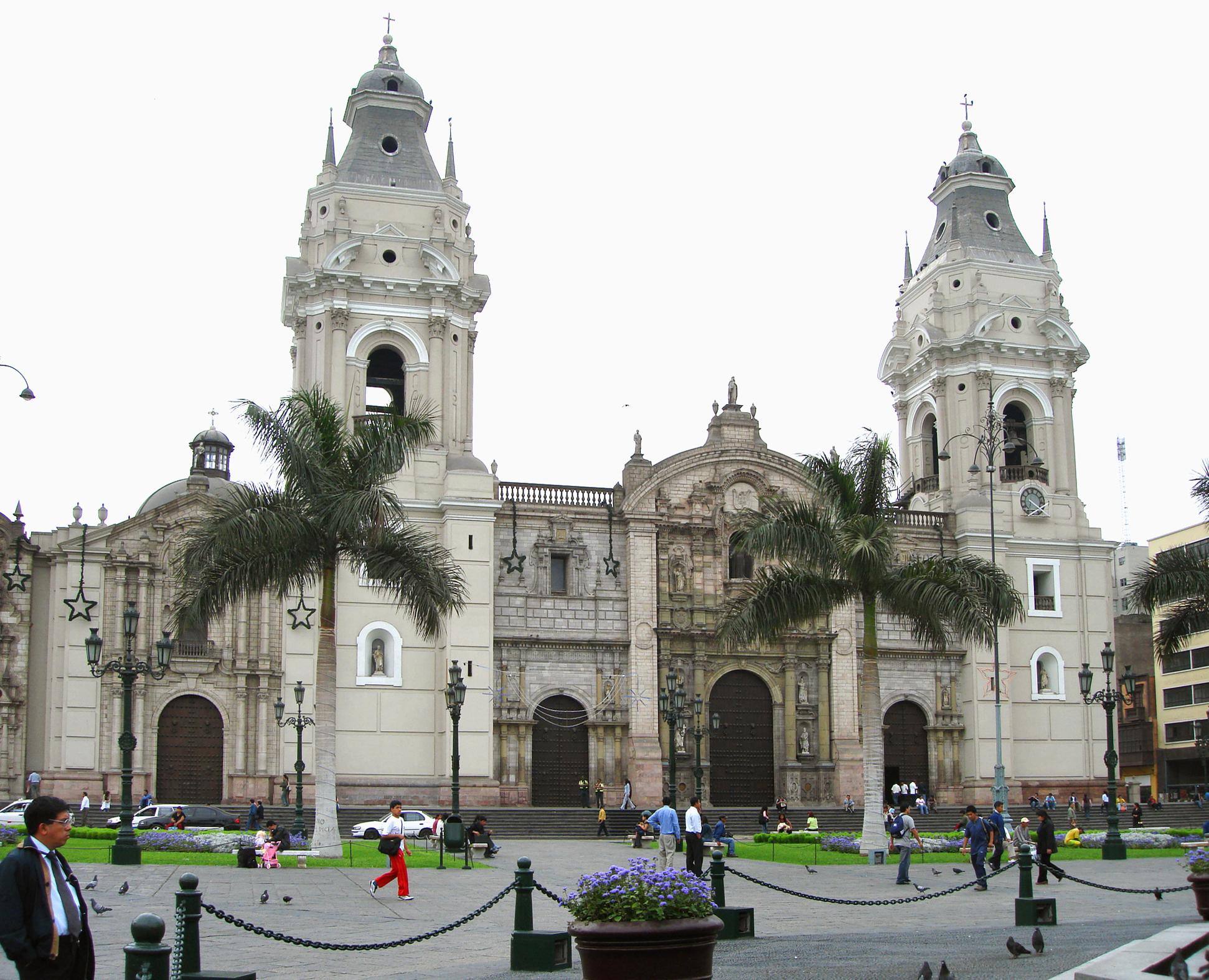 Catedral de Lima - Wik...