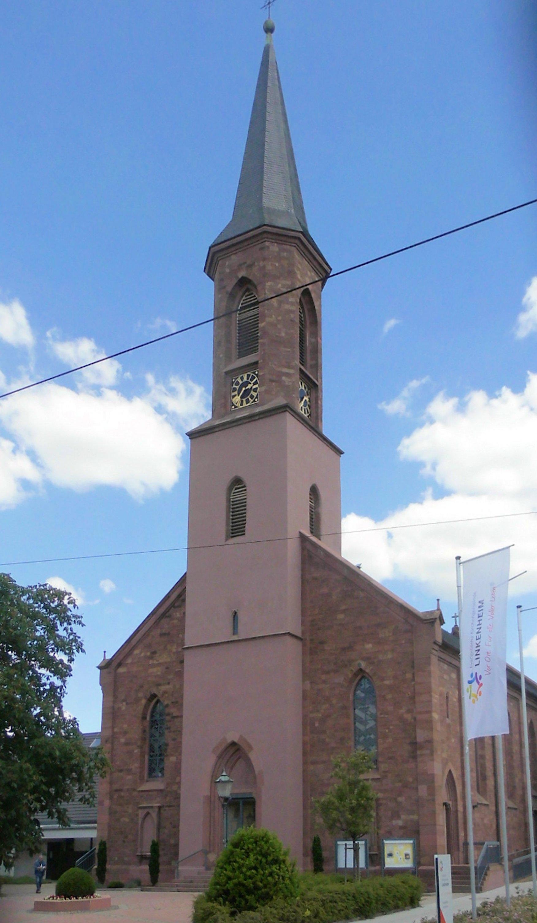 File:Linkenheim, Evangelische Kirche.jpg - Wikimedia Commons