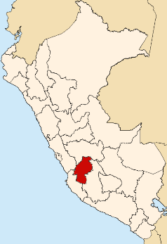 Location of Huancavelica Region.png