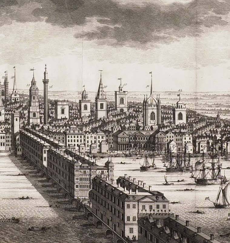 Image result for St. Giles 1700s