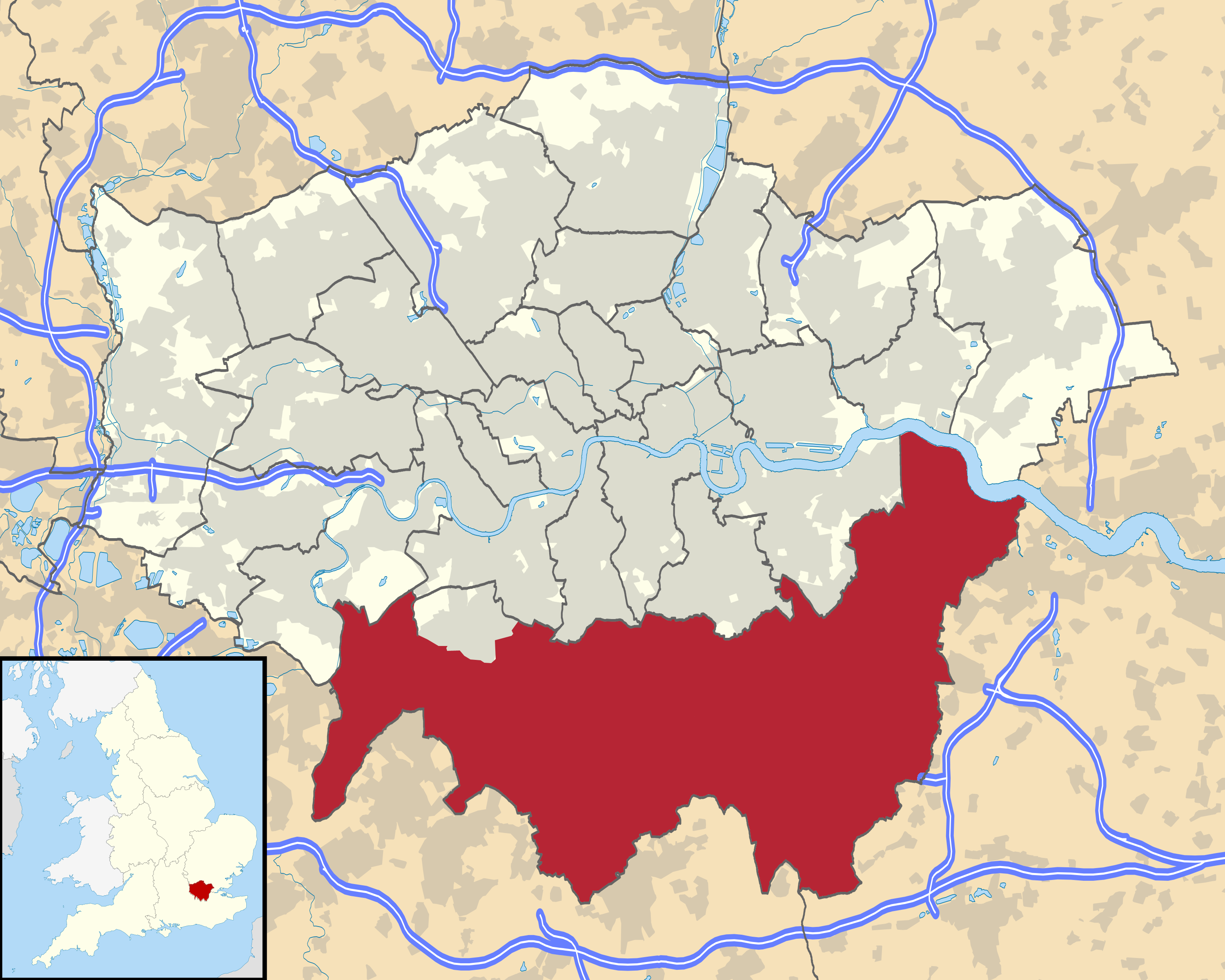 filelondon wikivoyage city regions maps south londonpng