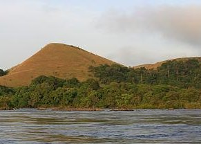 Landscape in Lopé National Park, Gabon