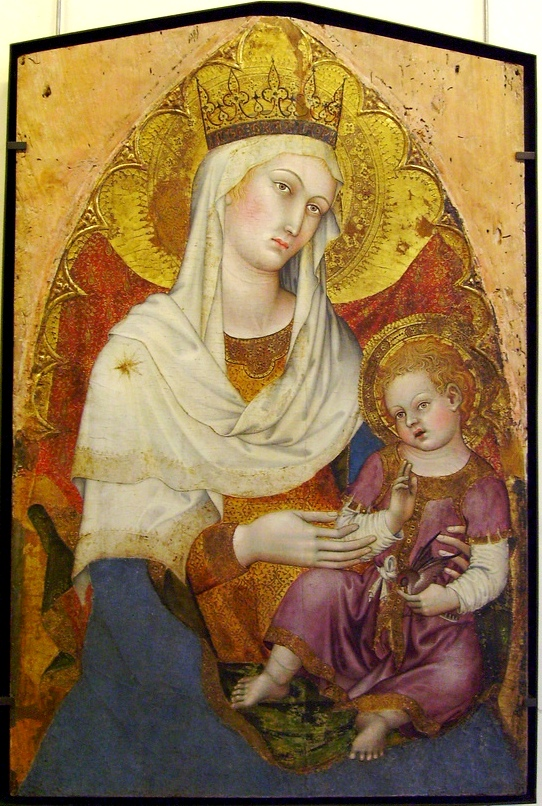 Madonna and Child by Taddeo di Bartolo, 1400 [Wikipedia]