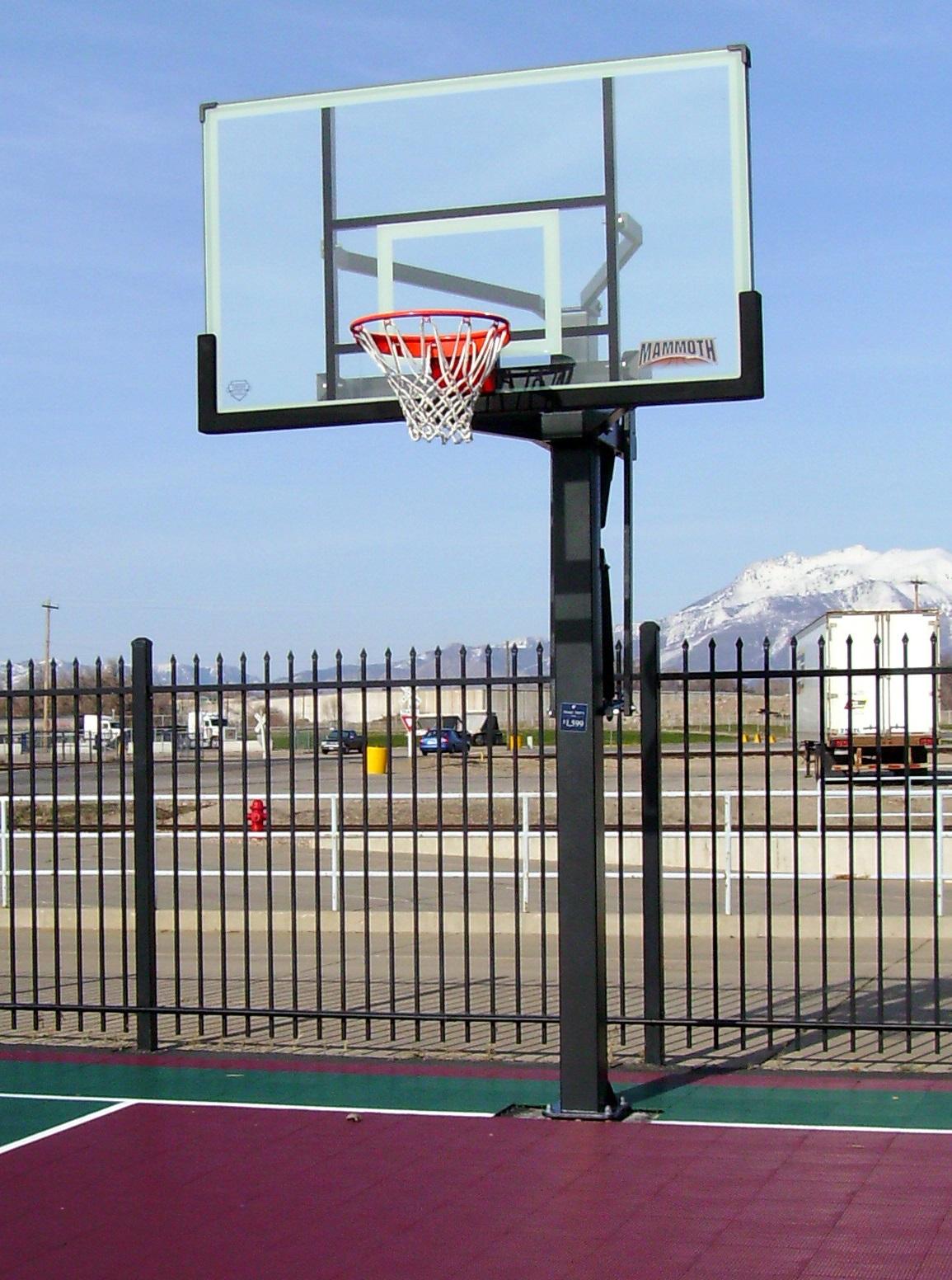 In Ground Basketball Ring Australia