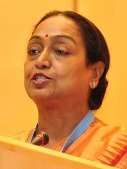 First woman Speaker of Lok SabhaMeira Kumar