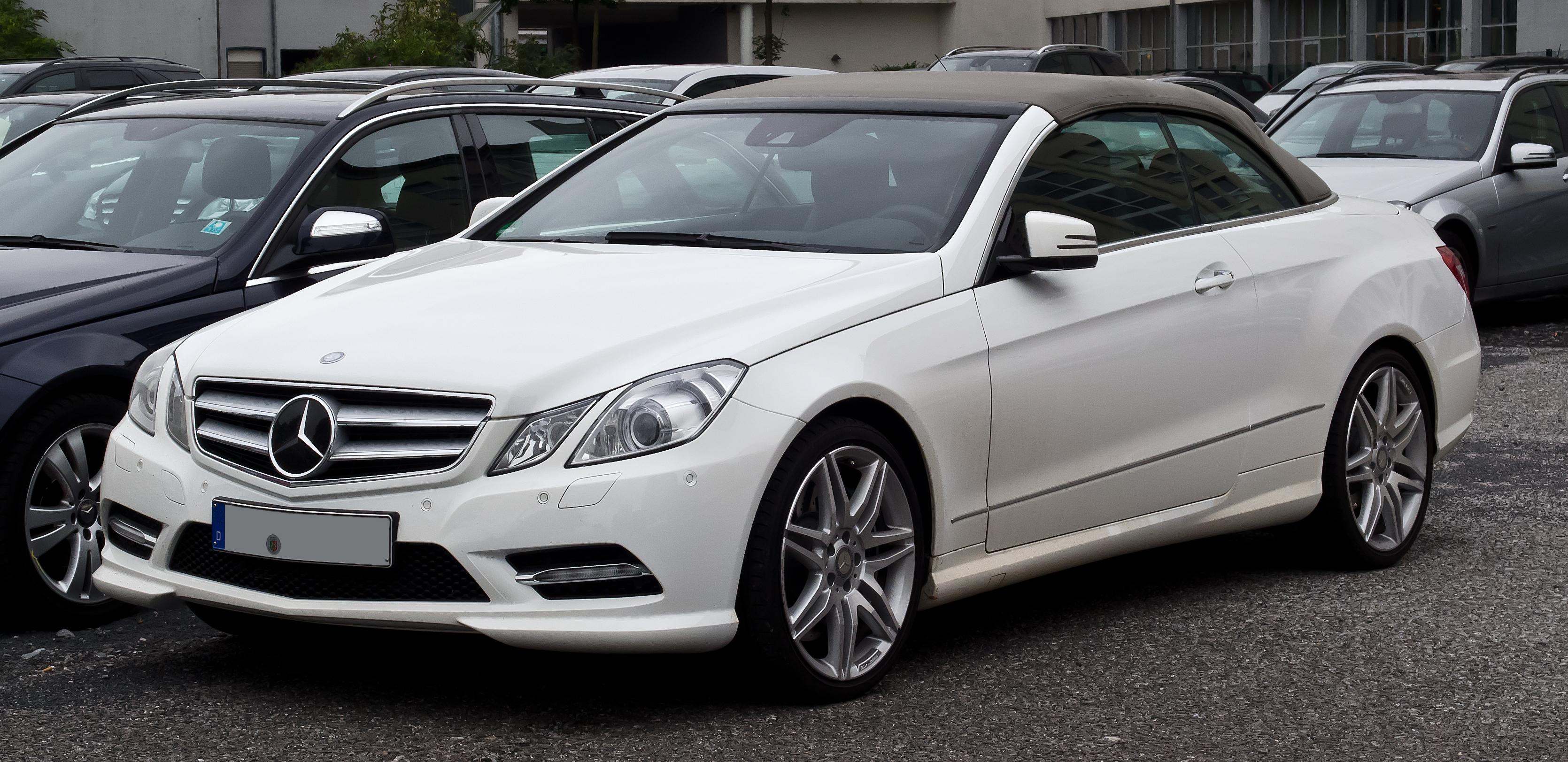 File Mercedes Benz E 500 Blueefficiency Cabriolet Sport