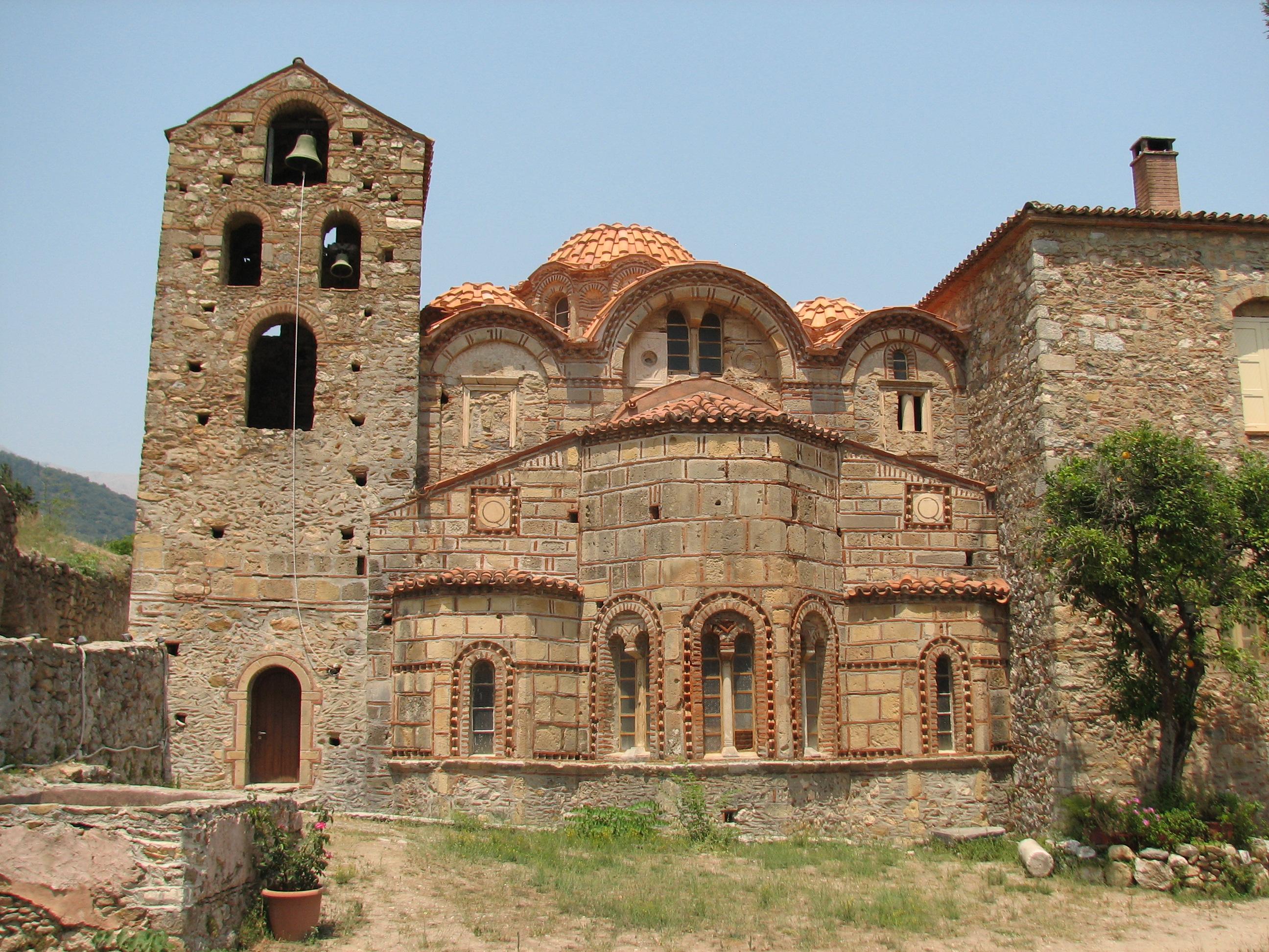 Metropolis de Mystras. Fuente: Wikimedia