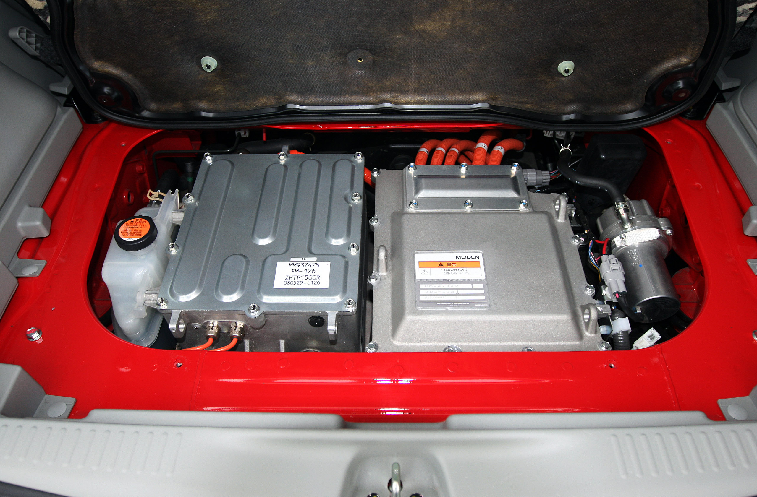 Electric Car Battery Exchange System