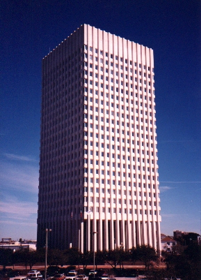 One Moody Plaza, the location of the American National Insurance Company Moody Plaza in Galveston Texas.jpg