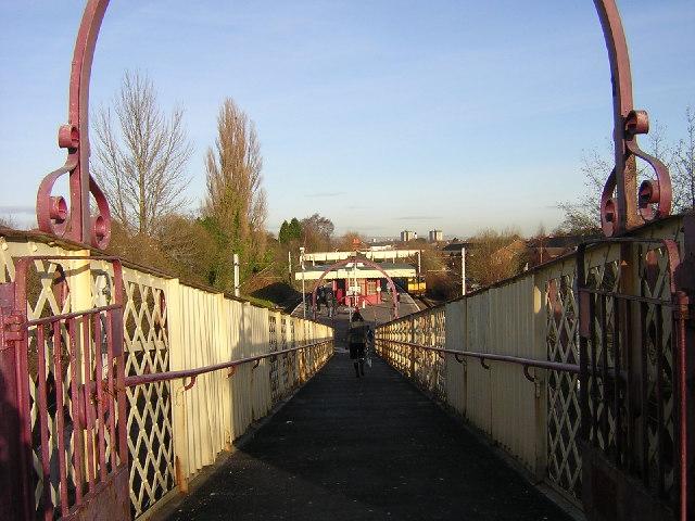 Patterton to Muirend and Clarkston Lines. 2 Whitecraigs Railway Station Photo