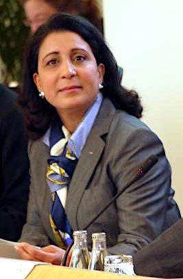 Former athlete and World Athletics Council member Nawal El Moutawakel Nawal El Moutawakel (cropped).JPG