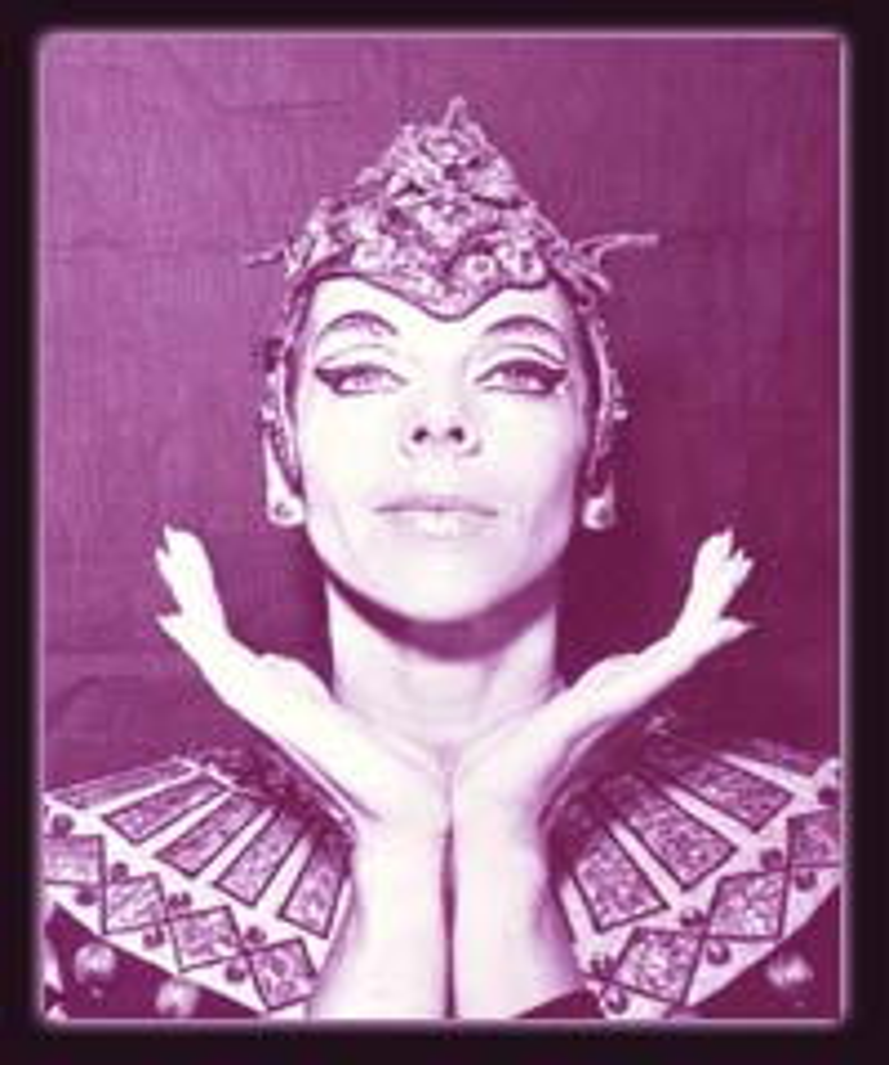 Norma Fontenla Argentine ballet dancer