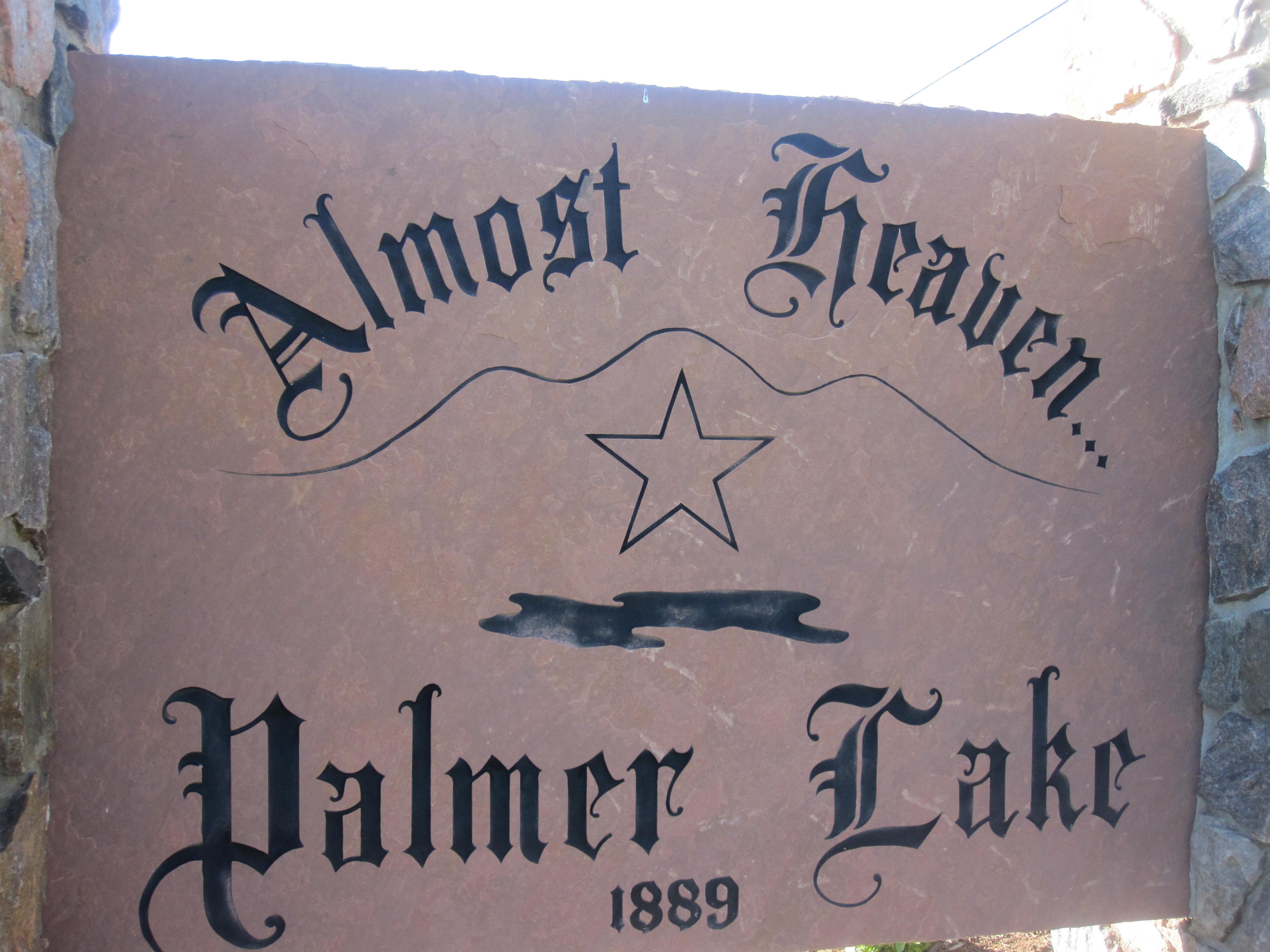 Almost Heaven 2010 file:palmer lake, co, welcome sign img 5174 - wikimedia
